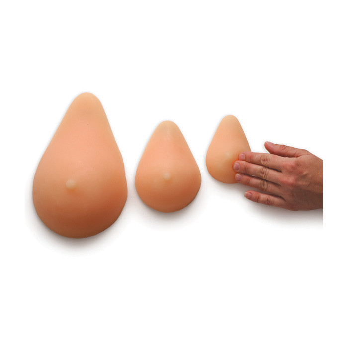 ABC cup breast self-examination model set, breast awareness, 3 cup sizes, palpable and nonpalpable lumps, Health Edco, 26540