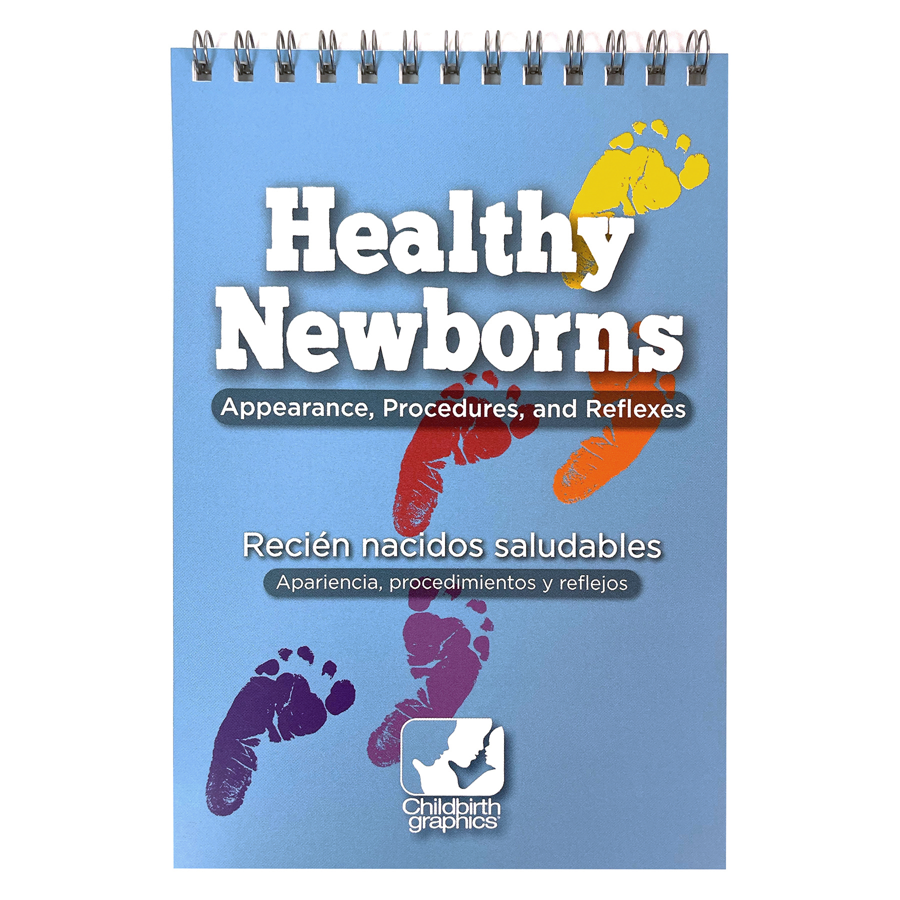 pocket-sized guide to normal newborn appearance and procedures cover image, Childbirth Graphics, 38506