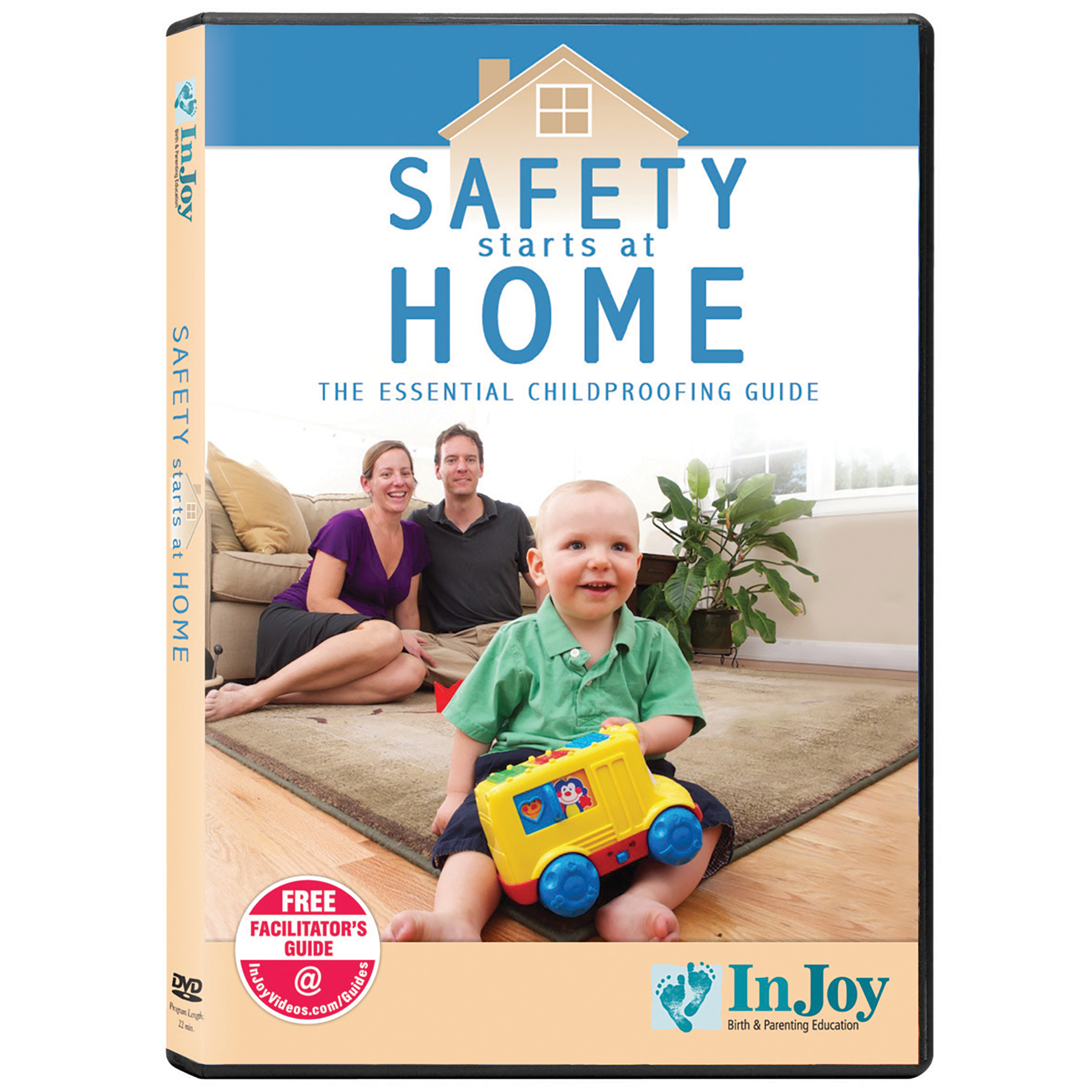 Safety Starts at Home childproofing safety guide DVD cover, Childbirth Graphics, 45694