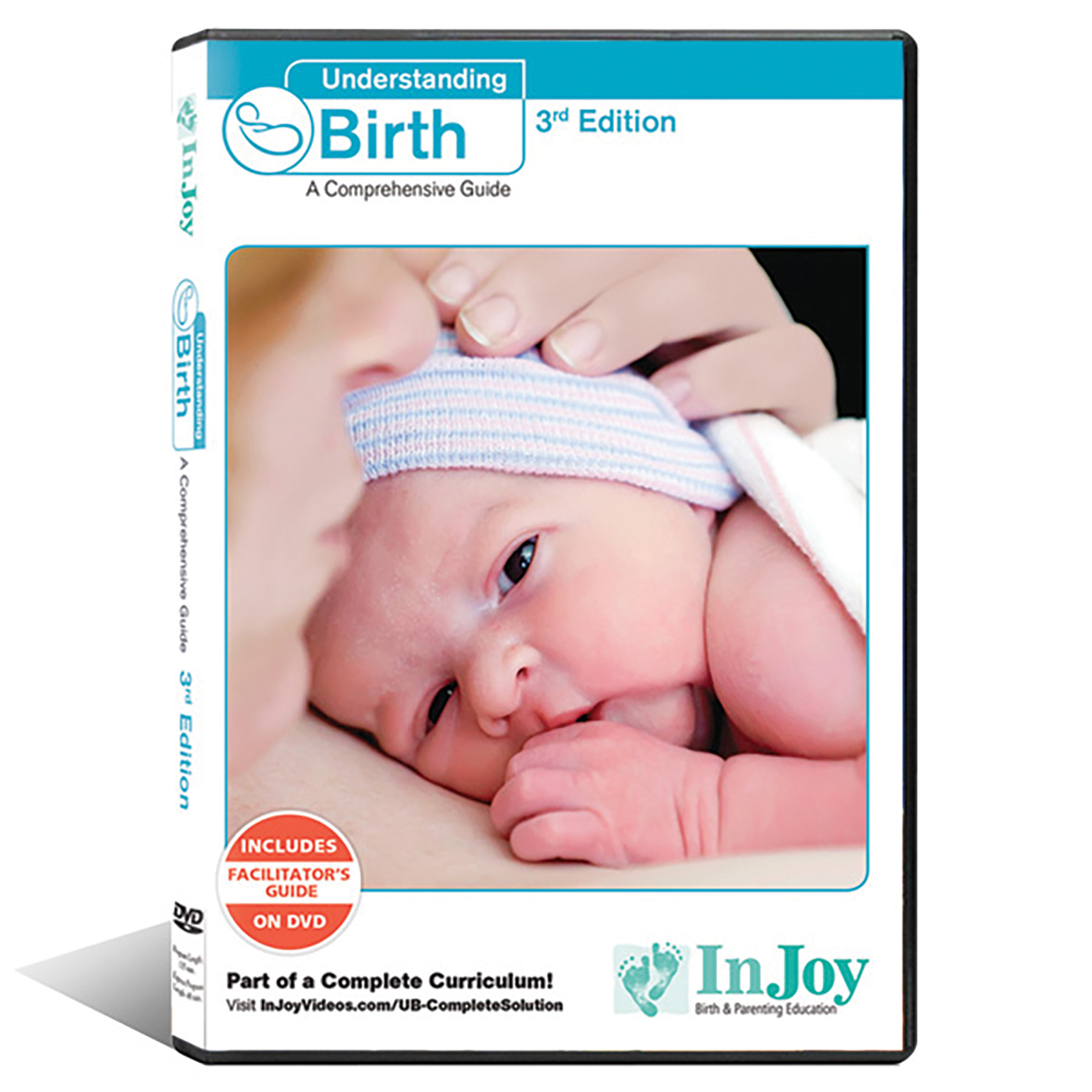 Understanding Birth DVD Spanish 3rd edition, cover image skin to skin contact, Childbirth Graphics, 48538