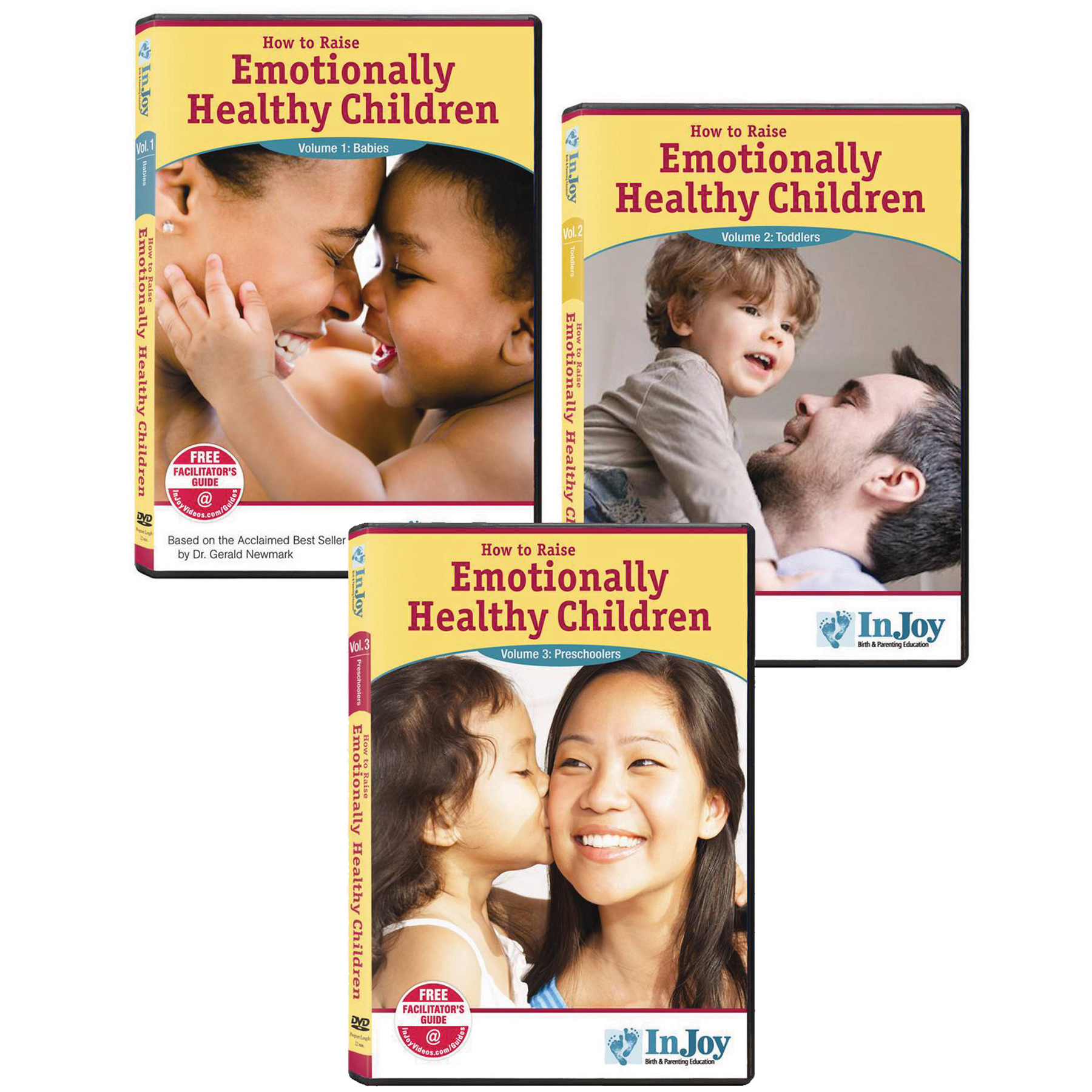 How to Raise Emotionally Healthy Children 3 DVD Set, babies toddlers preschoolers covers, Childbirth Graphics, 48776