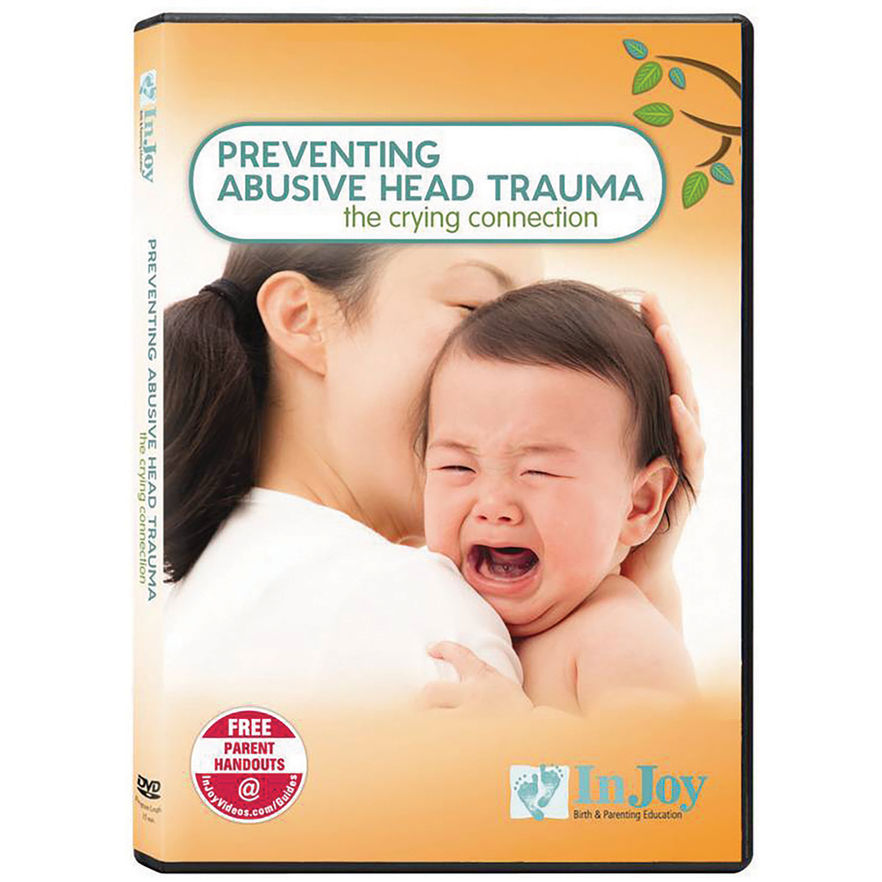 Preventing Abusive Head Trauma DVD, parenting , mom holding crying baby image, Childbirth Graphics, 48778