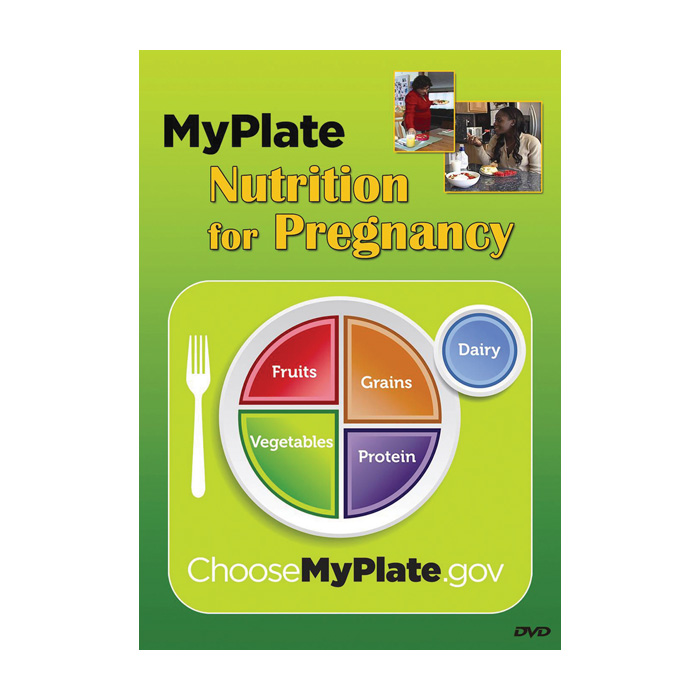 MyPlate Nutrition for Pregnancy DVD, tips for healthy weight gain, Health Edco, 48861