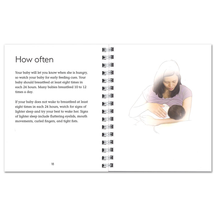 Breastfeeding: Ready. Set. Go! Pocket Guide, breastfeeding education and teaching materials, Childbirth Graphics, 52359
