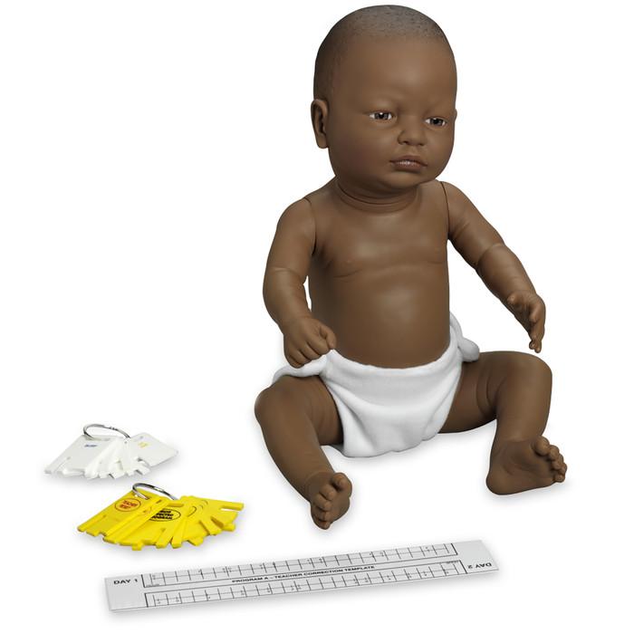 Enhanced/Drug-Affected Ready or Not Tot Black male control keys & program teacher correction template, Health Edco, 53611