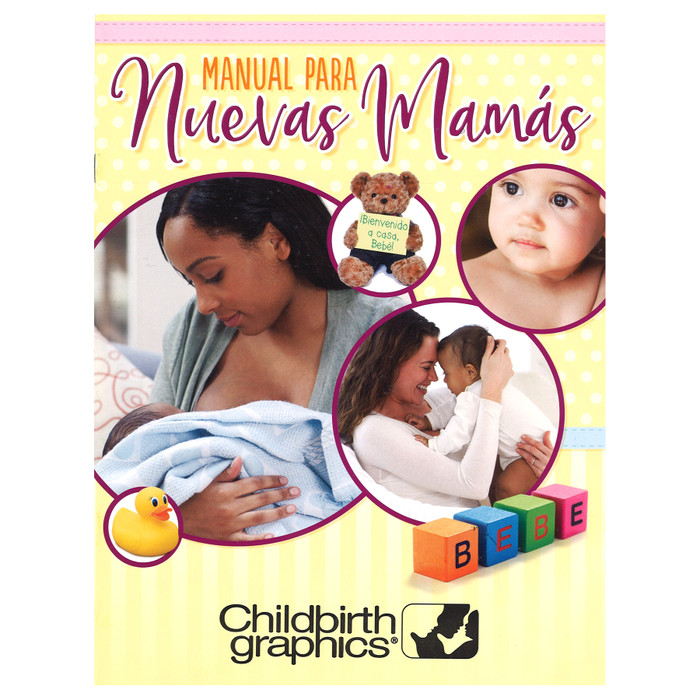 The New Mom's Handbook, Spanish version from Childbirth Graphics, childbirth, postpartum and early parenting materials, 56417
