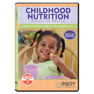 Childhood Nutrition Volume 2: Young Children Eating Right DVD, available from Childbirth Graphics, educational video, 71468