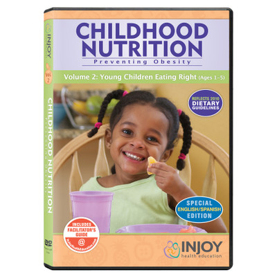 Childhood Nutrition Volume 2: Young Children Eating Right DVD, English/Spanish, available at Childbirth Graphics, 71470
