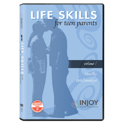 Injoy's Life Skills for Teen Parents Volume 1: Healthy Relationships DVD available from Childbirth Graphics, 71486