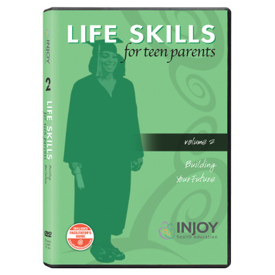Life Skills for Teen Parents Volume 2: Building Your Future DVD available from Childbirth Graphics, educational tools, 71487