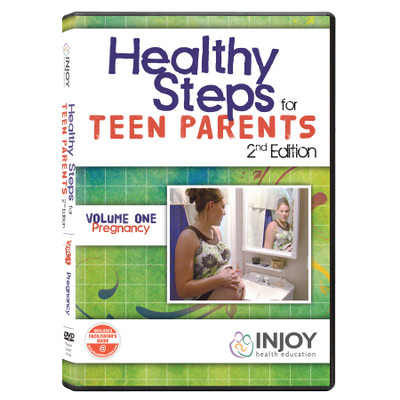 InJoy's Healthy Steps for Teen Parents 2nd Edition Volume 1: Pregnancy DVD available from Childbirth Graphics, 71494