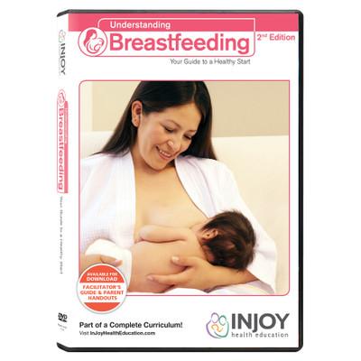 InJoy's Understanding Breastfeeding 2nd Edition DVDmavailable at Childbirth Graphics, lactation education materials, 71563