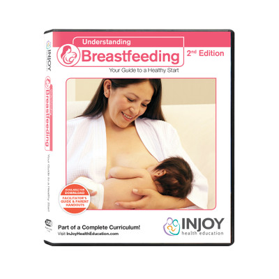 InJoy's Understanding Breastfeeding 2nd Edition USB available at Childbirth Graphics, lactation education materials, 71564