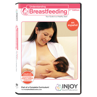 InJoy's Understanding Breastfeeding 2nd Edition DVD, Spanish, available at Childbirth Graphics, educational materials, 71565