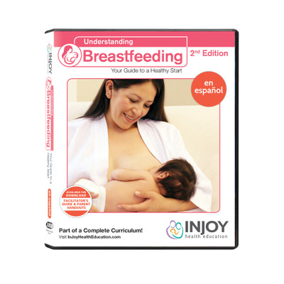 InJoy's Understanding Breastfeeding 2nd Edition USB, Spanish, available at Childbirth Graphics, educational materials, 71566