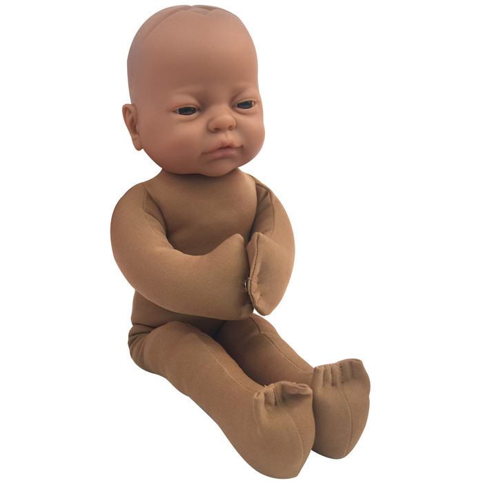 Fetal Model with Brown skin tone, childbirth education materials, labor and birth teaching tools, Childbirth Graphics, 79815