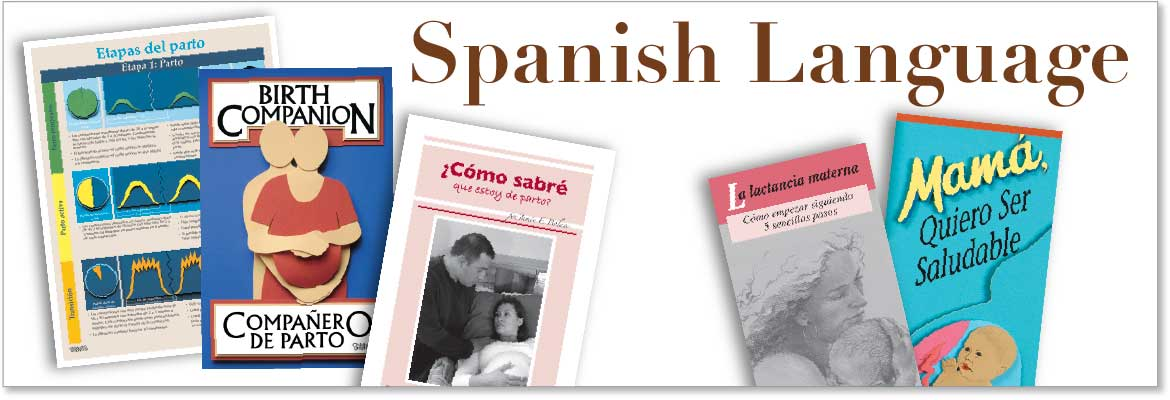 Childbirth Education Products & Materials in Spanish